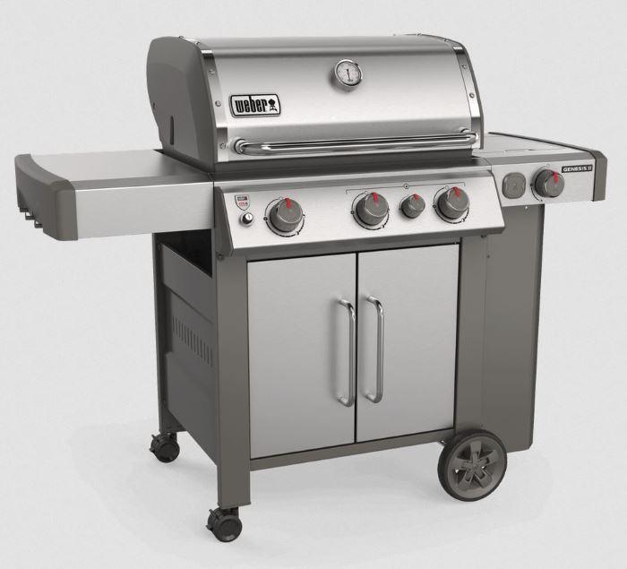 weber genesis II s-335 stainless steel grill